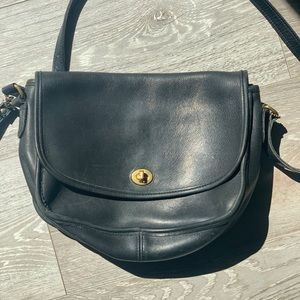 94-99 vintage coach purse black
